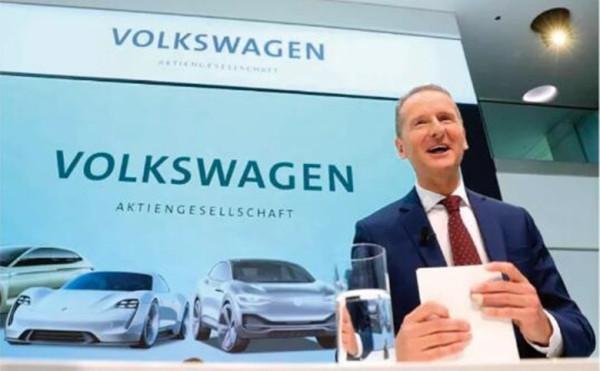 """大众集团CEO迪斯:""""传统汽车制造商的时代已经结束 """""""